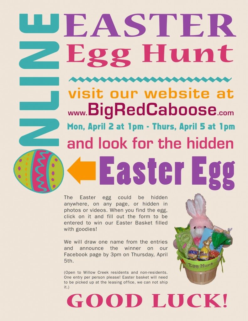 Fort Wayne Apartments Online Easter Egg Hunt