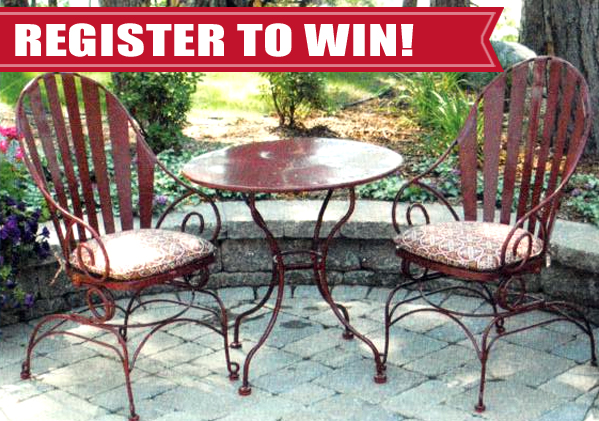 Patio Set Giveaway from Willow Creek Crossing Apartments Fort Wayne