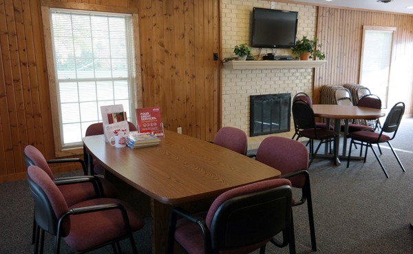 Community room for rent - fort wayne | Willow Creek Crossing Apartments