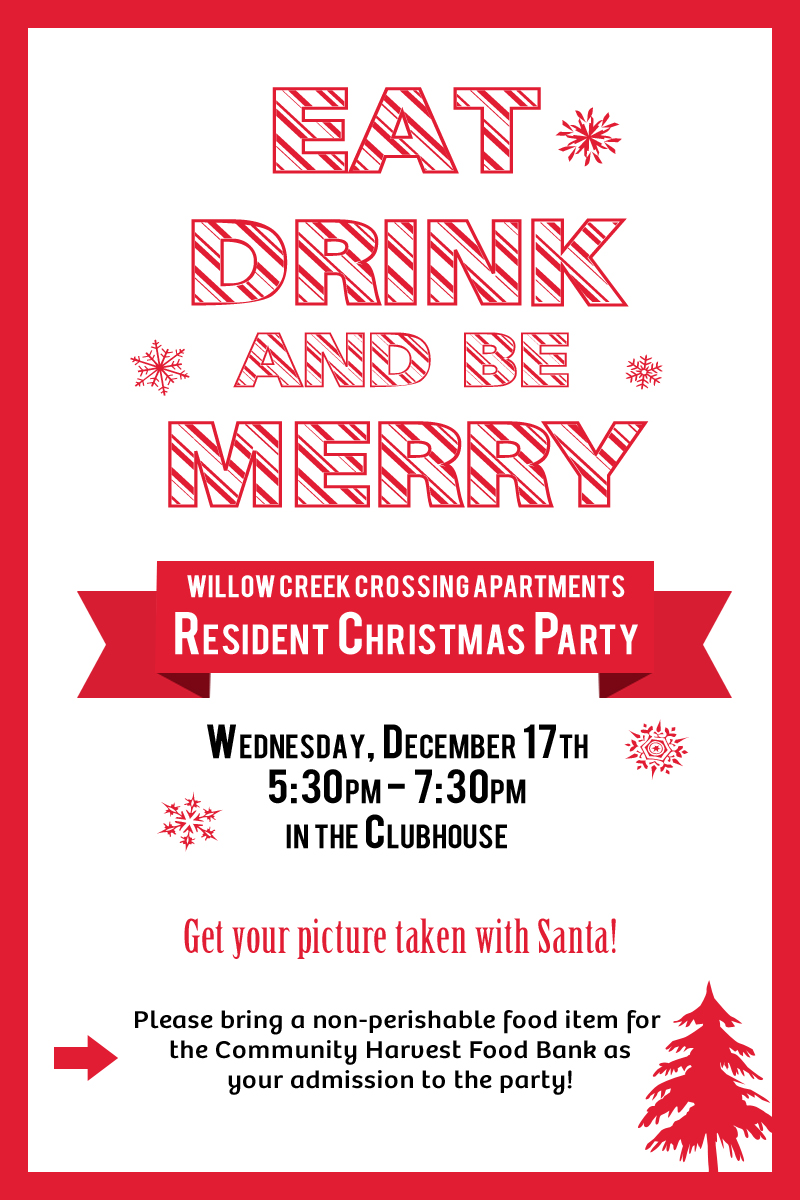 christmas party ideas for apartment community francis