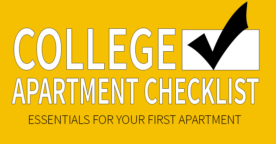 back to school college apartment checklist willow creek crossing