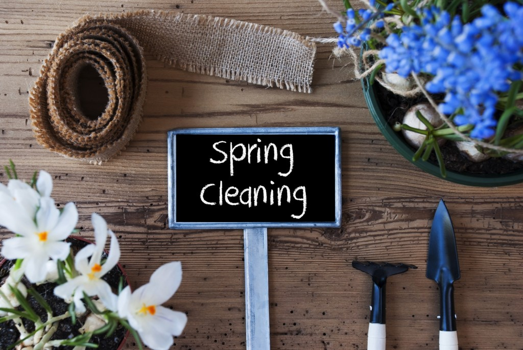 spring cleaning tips
